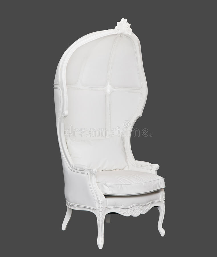 Download White chair stock image. Image of chair, leather, style - 23480047