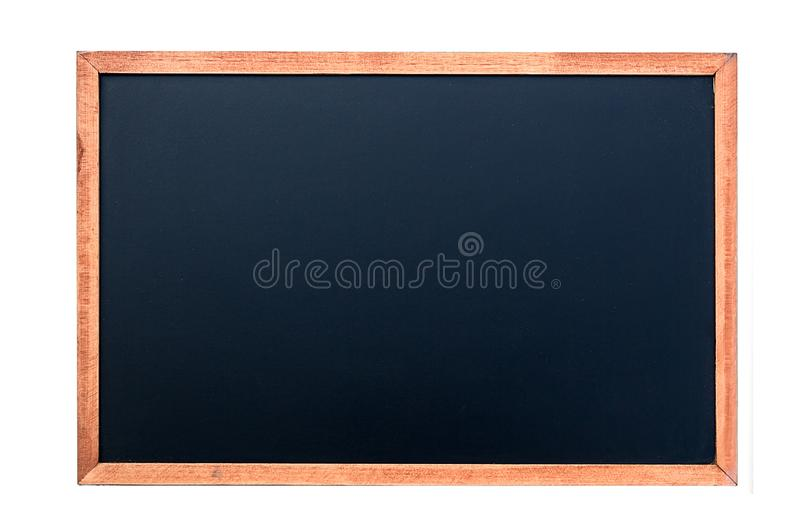 A white chalk on Empty Chalk board Background/Blank royalty free stock images
