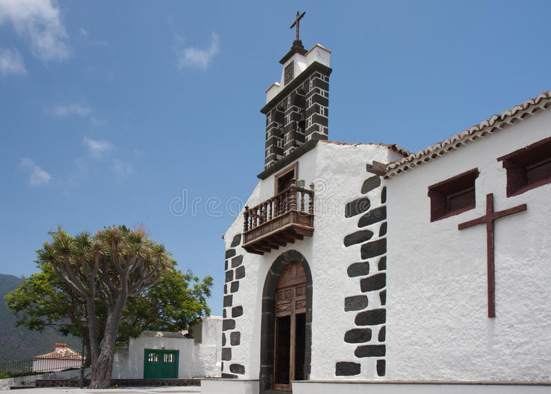 Download White Chapel At La Palma, Canary Islands Stock Photo - Image: 17839336