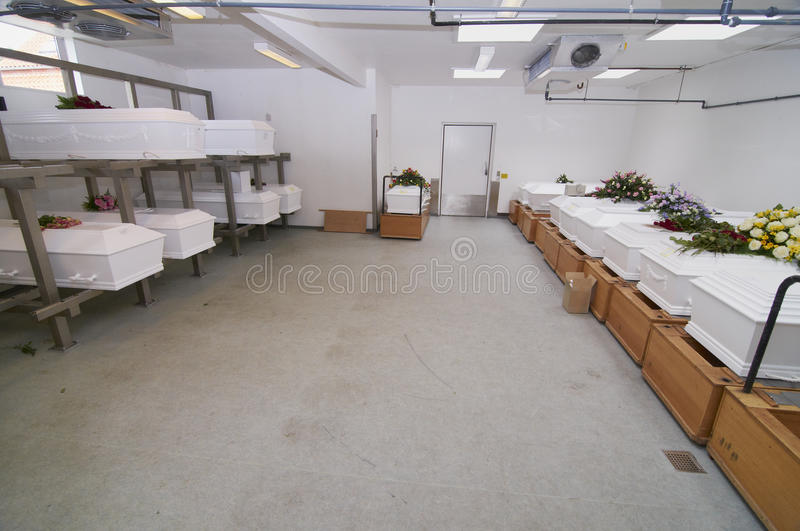 Download White chests in a row stock image. Image of crematoria - 28623365