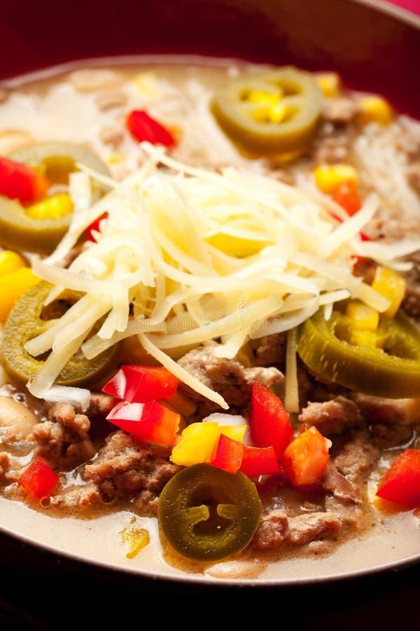 Download White Chili stock photo. Image of chili, cheese, turkey - 16861922