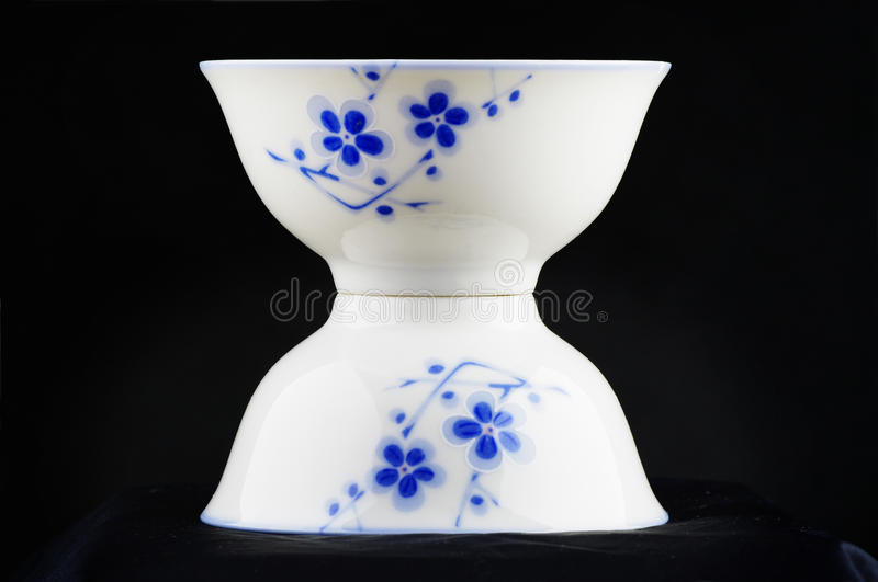 Download White china bowl stock photo. Image of flower, shape - 13222980