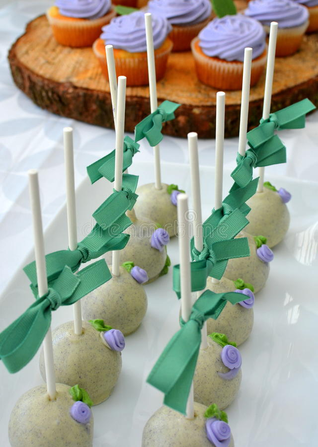 Download White Chocolate Truffles - With Blueberry Muffins Stock Image - Image: 41159591