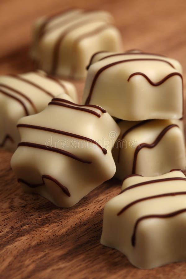Download White chocolates stock image. Image of candy, pralines - 22610865