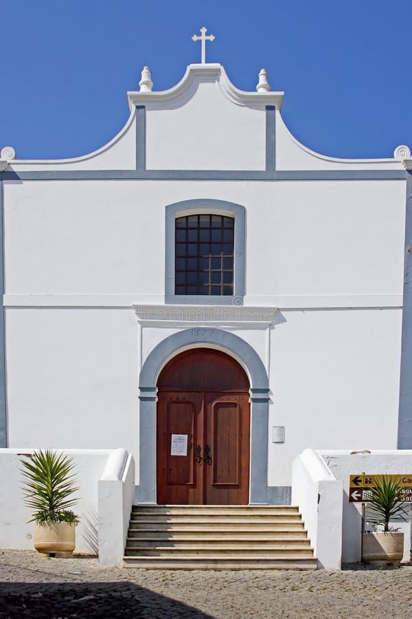 Free White Church In Aljezur Stock Photo - 2117590