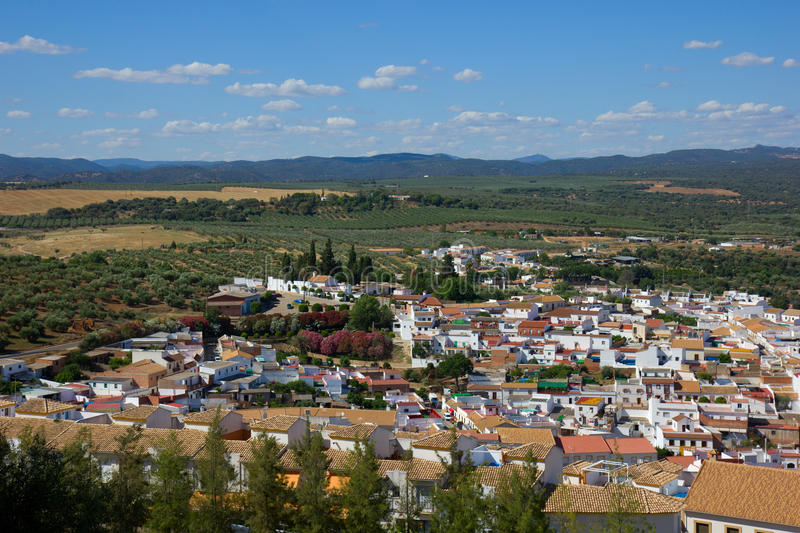 White city of Andalusia, Spain royalty free stock photography