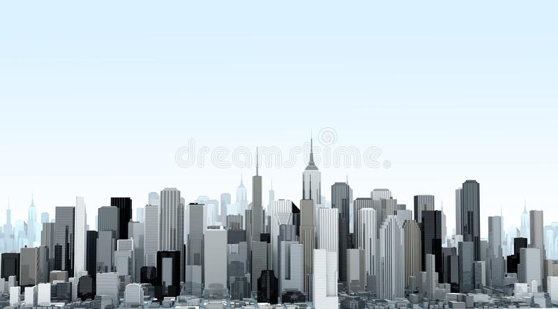 city building background