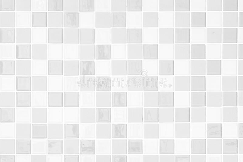 White clean mosaic wall for background brick slate stone. Pattern stock photos