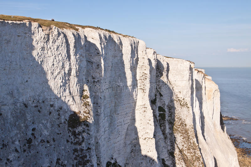 White cliffs of Dover stock image