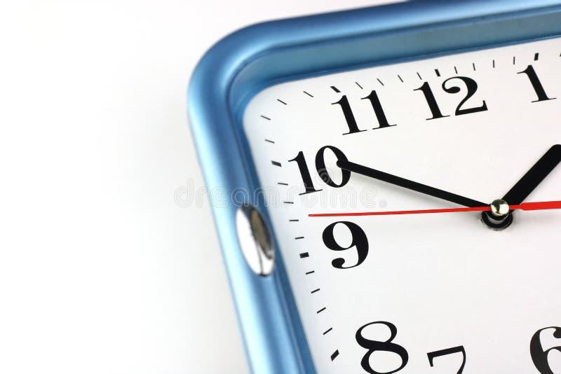 White Clock Face. Time concept. Macro image. Photo royalty free stock photo