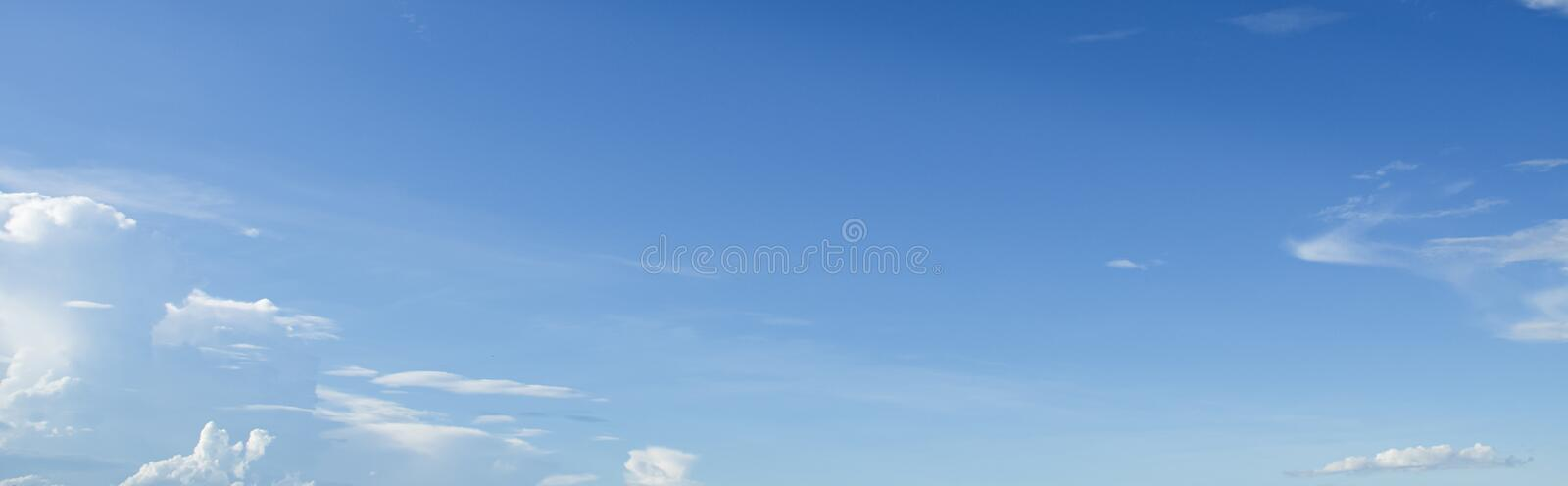 white cloud with blue sky background royalty free stock photo