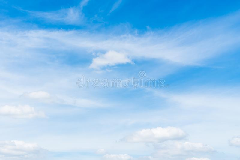 White cloud on blue sky. Beautiful white cloud on blue sky background stock images