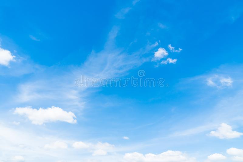 White cloud on blue sky. Beautiful white cloud on blue sky background stock image
