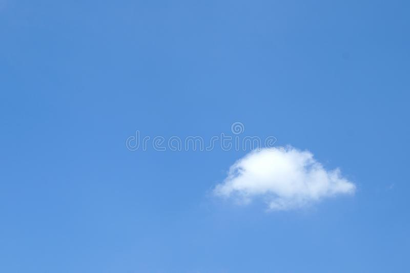 A white Cloud and blue sky stock images