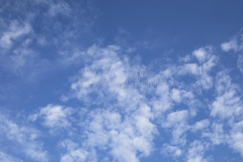 white cloud on blue sky weather background royalty free stock photos