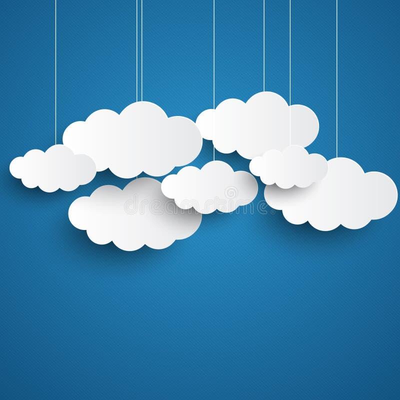 blues clouds templates printable architecture modern idea