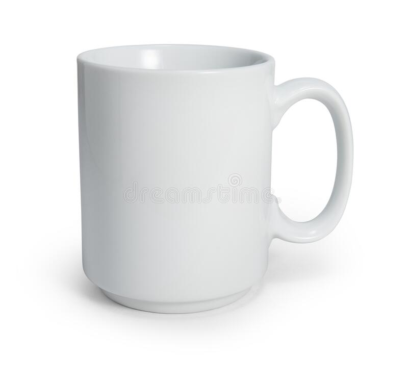 Free White Coffee Mug Isolated On White With Clipping Path Royalty Free Stock Image - 206720096