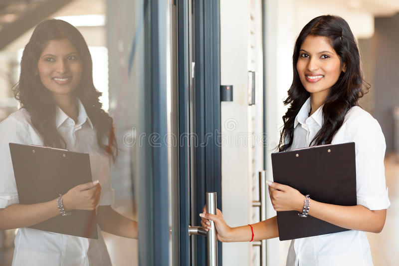 White collar worker stock photo