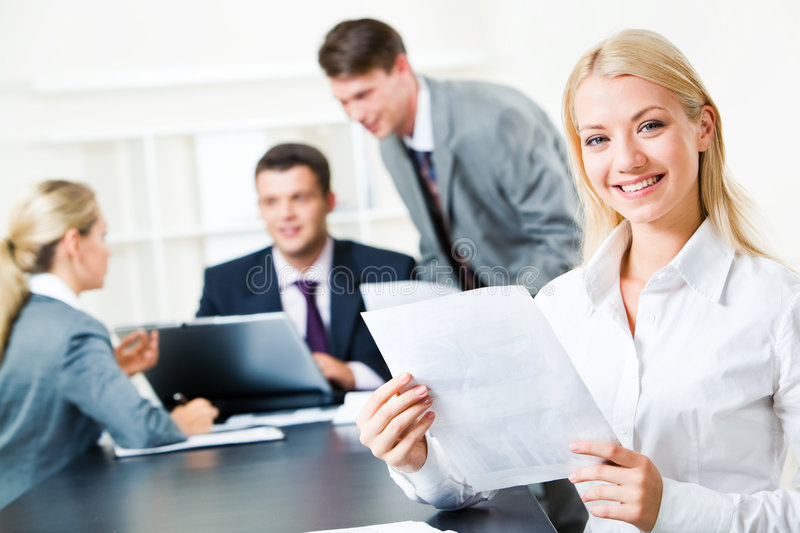 Download White collar worker stock image. Image of representative - 6181099