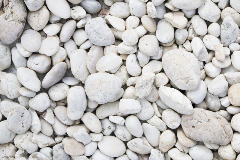 White colour stone background. White colour round stone background stock photos