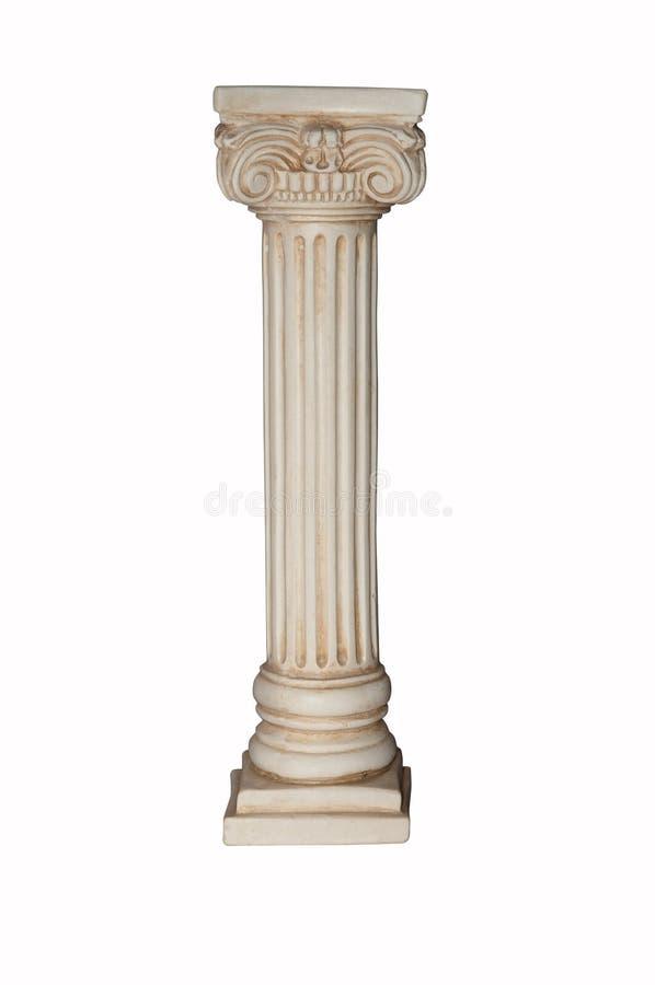 White column royalty free stock image