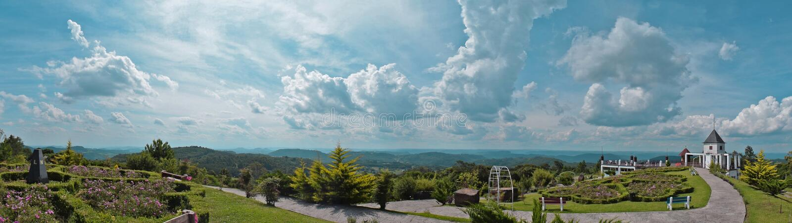 White Concrete Building Under Clear Sky Photo royalty free stock photo