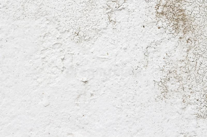 White concrete wall texture. Architecture backgrounds block built cement cinder color construction design dirty element exterior floor gray grooved horizontal royalty free stock photo