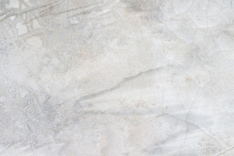 White concrete wall texture. Architecture backgrounds block built cement cinder color construction design dirty element exterior floor gray grooved horizontal royalty free stock photography