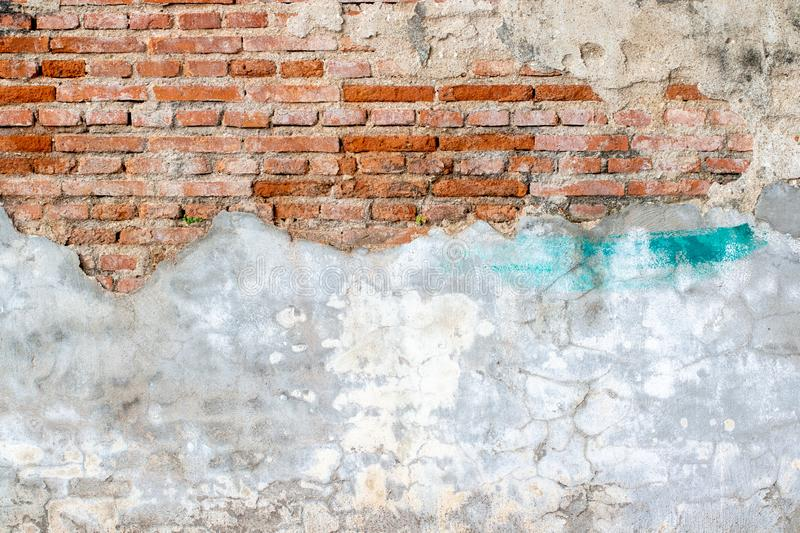 White concrete wall texture. Architecture backgrounds block built cement cinder color construction design dirty element exterior floor gray grooved horizontal royalty free stock photos
