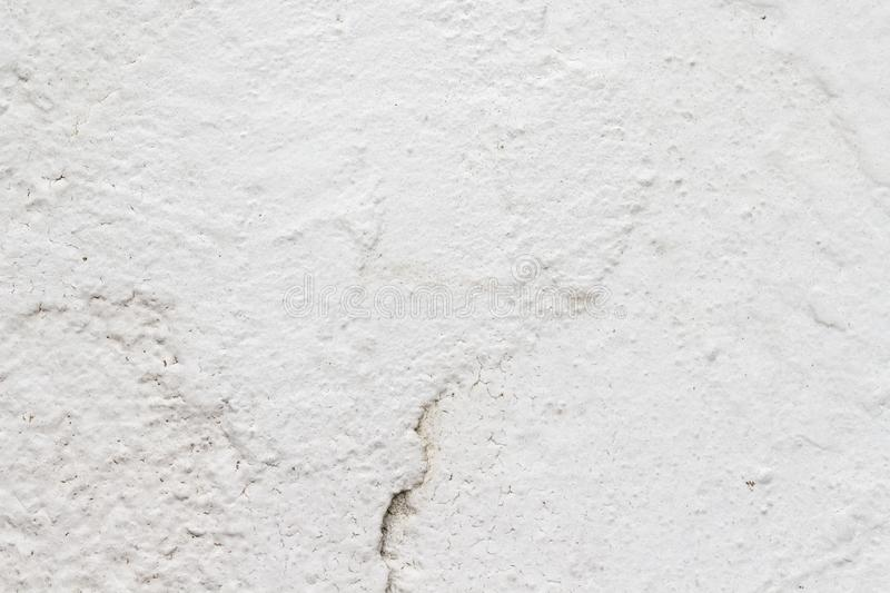 White concrete wall texture. Architecture backgrounds block built cement cinder color construction design dirty element exterior floor gray grooved horizontal royalty free stock images
