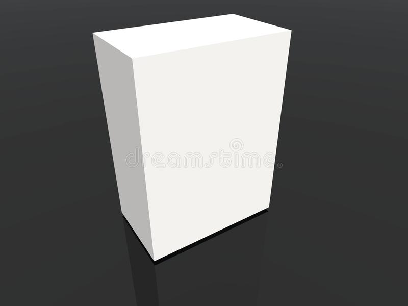 Download White container stock illustration. Illustration of journal - 22253015