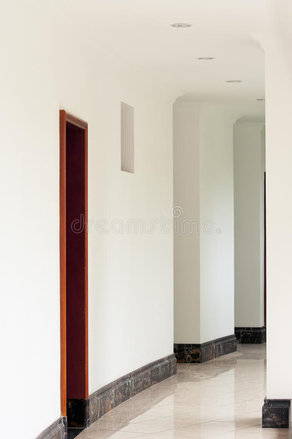 Download White  corridor stock photo. Image of abstract, perspective - 20896818