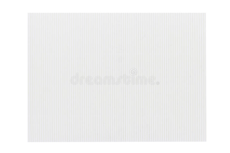 White Corrugated Cardboard Texture Stock Photography ...