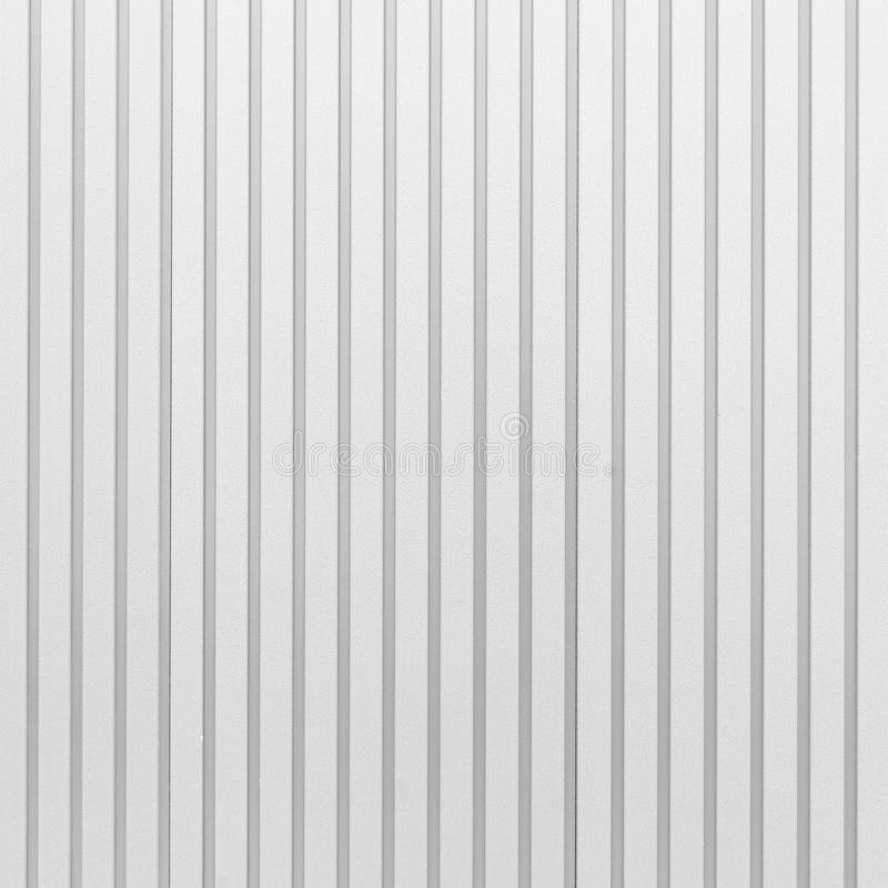 White Corrugated Metal Texture Surface Stock Photo Image