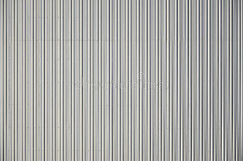 White Corrugated Metal Texture Surface Stock Photo Image of