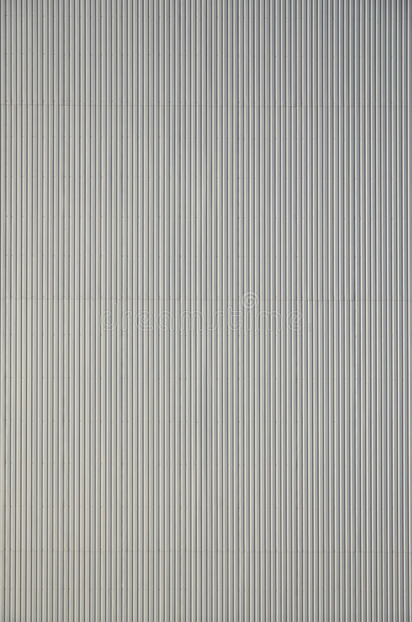 White Corrugated Metal Texture Surface Stock Photo Image