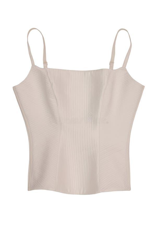 White corset stock photos