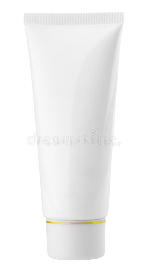 Download White cosmetic tube stock image. Image of feminine, liquid - 23283365