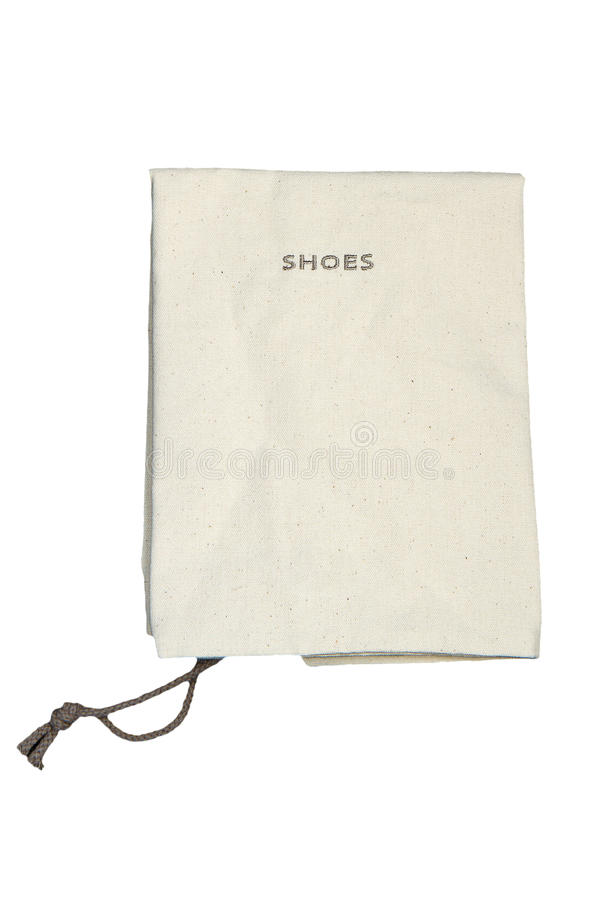 Download White cotton bag stock image. Image of isolated, market - 22628153