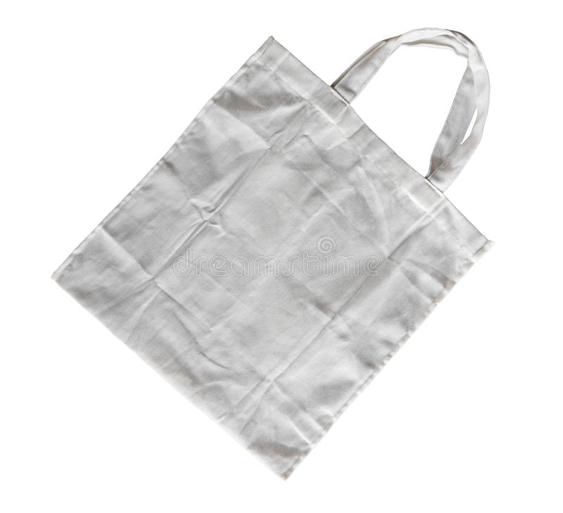 Download White cotton bag stock image. Image of business, agriculture - 23570647