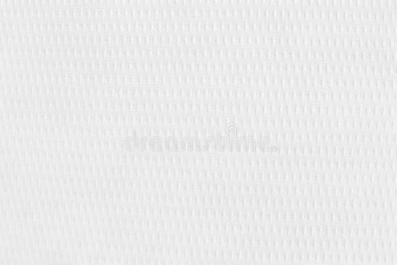 White cotton fabric texture background, seamless pattern of natural textile.  stock photography