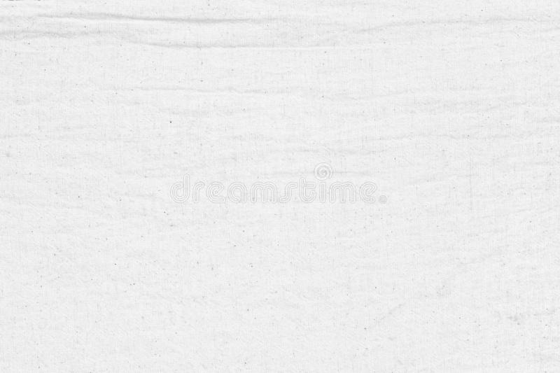 White cotton fabric wrinkled canvas texture background for design blackdrop or overlay background royalty free stock photo