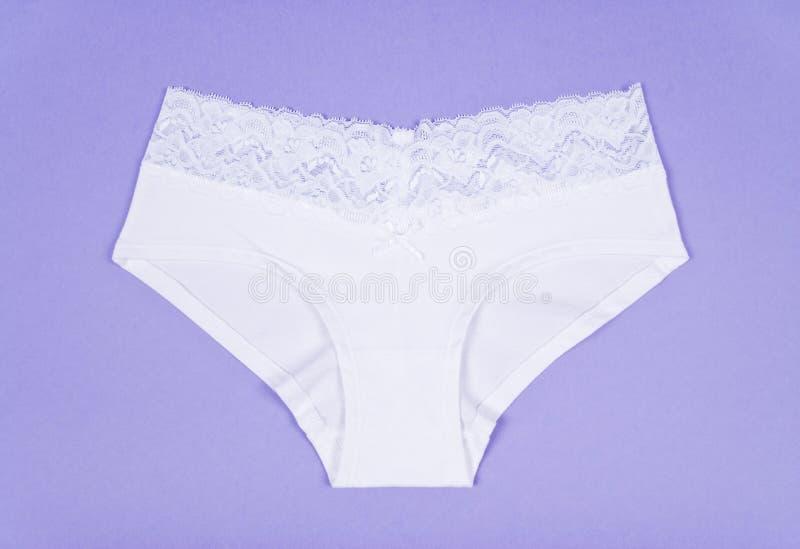 White Cotton Panties Stock Photography