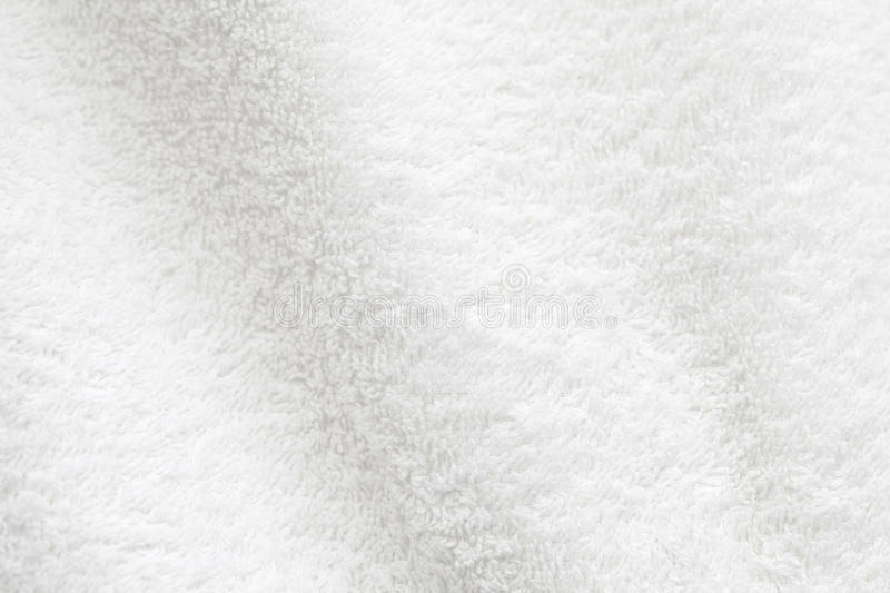 White cotton towel background photo texture royalty free stock photography