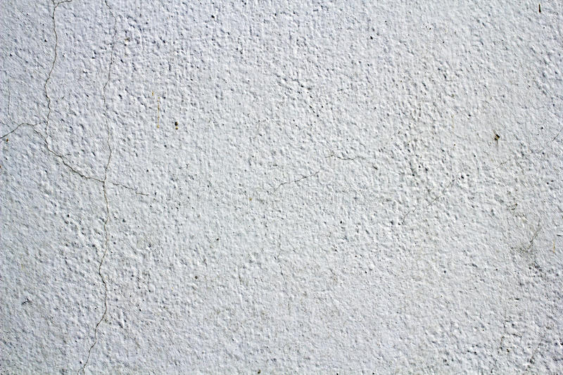White cracked wall texture. For background royalty free stock image