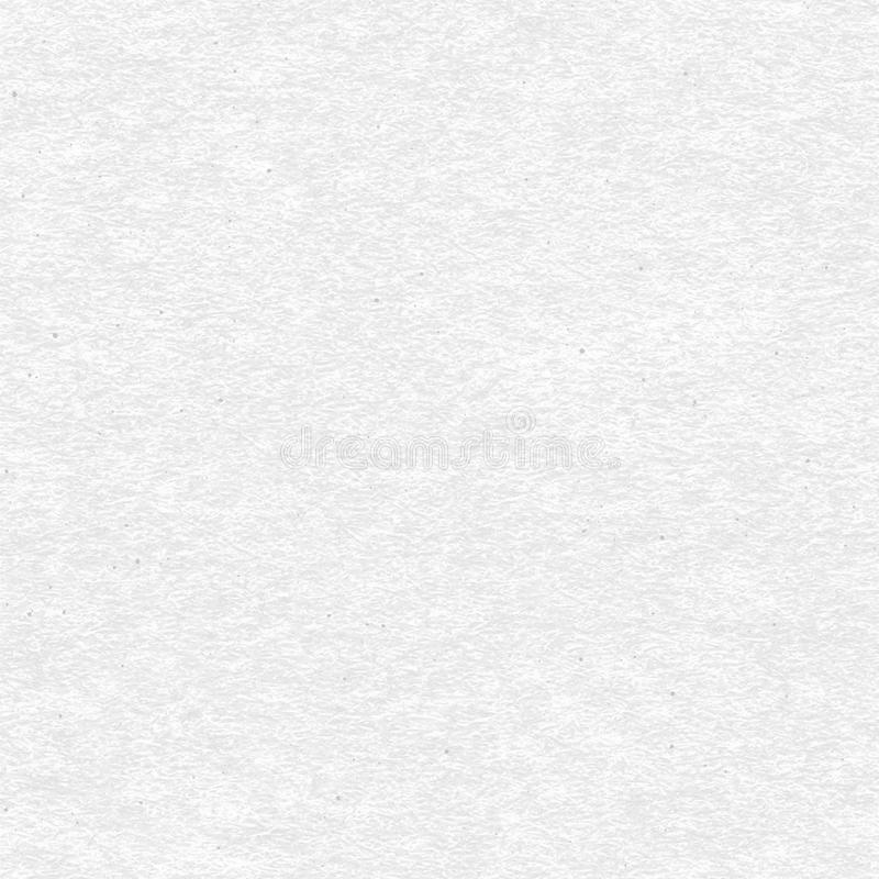 Craft paper seamless vector texture. White craft paper with speckle seamless vector texture. Close-up of gray cardboard or parchment background vector illustration