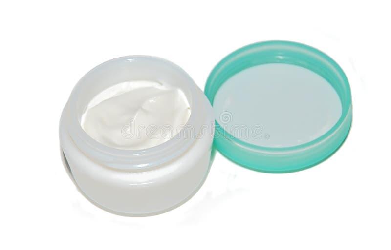 White cream stock images