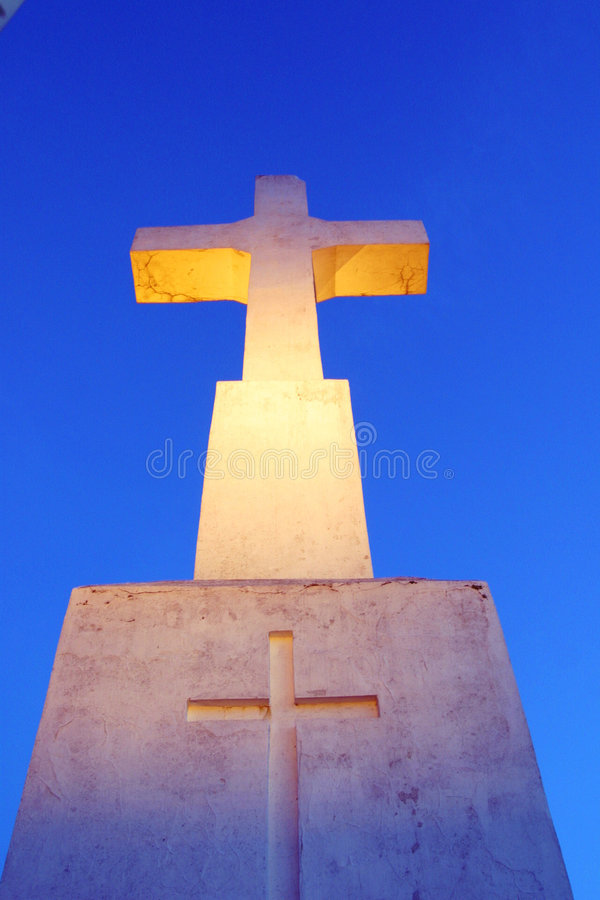 White cross stock photos