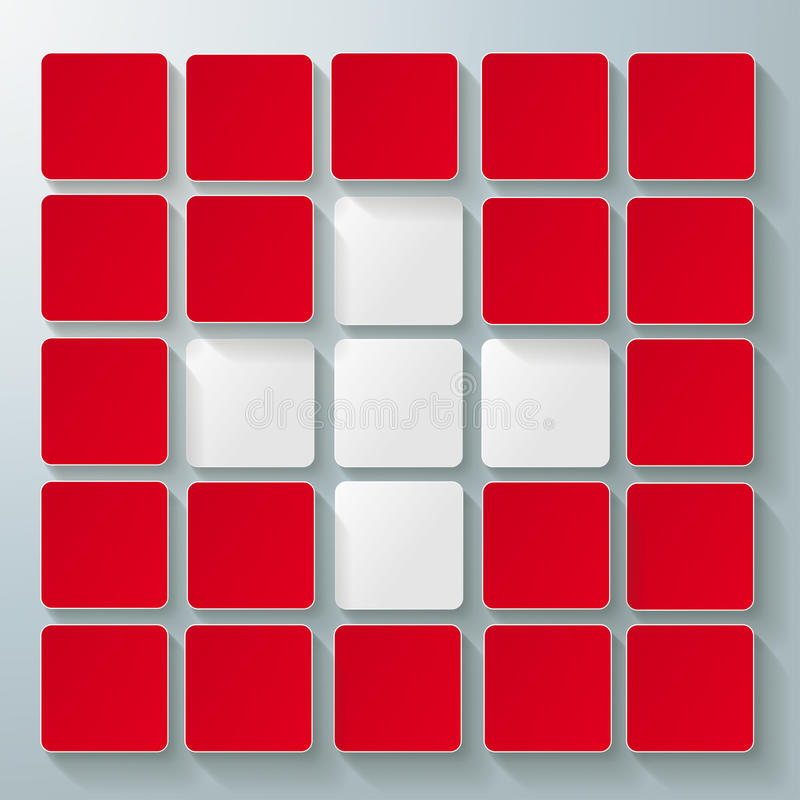 Download White Cross Infographic Red Background Stock Images - Image: 33661124