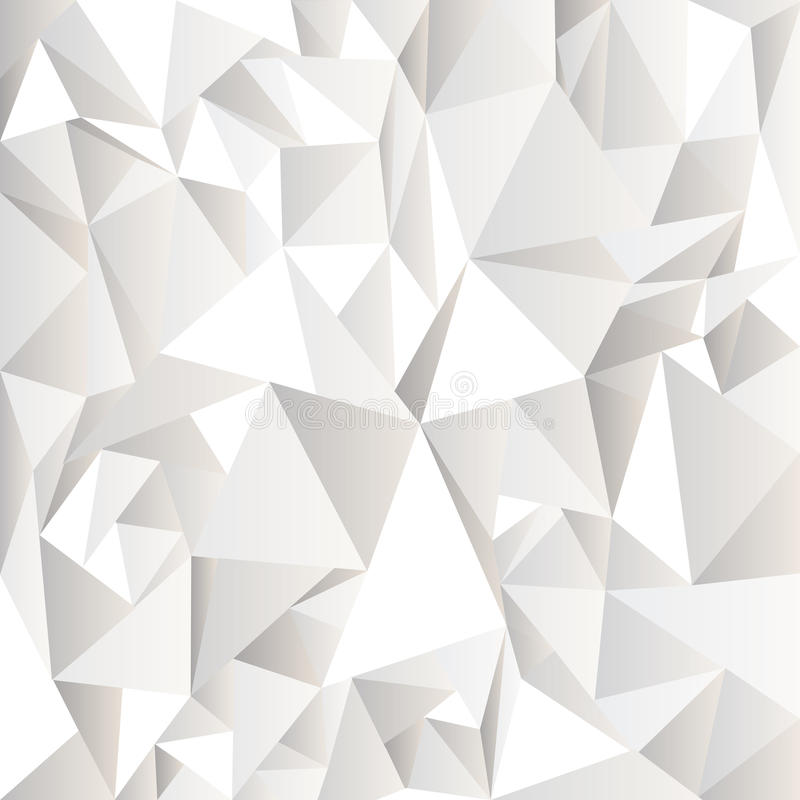 White crumpled abstract background royalty free illustration